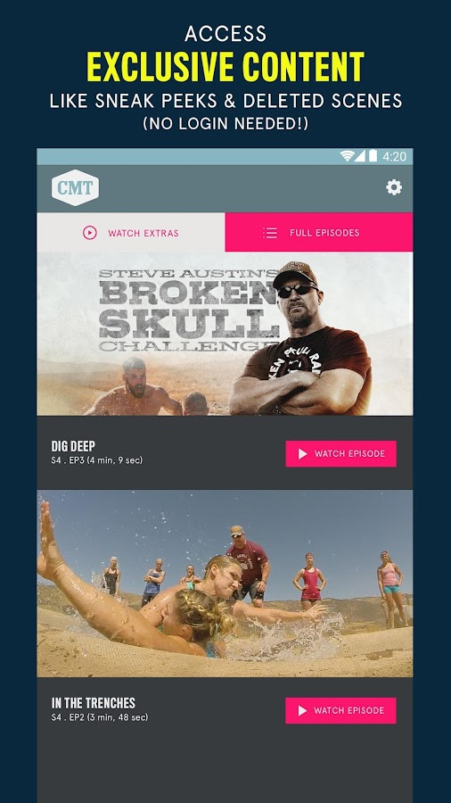 CMT — TV Shows, Country & More- screenshot