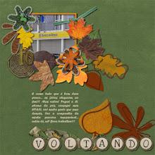 "Photo: Leaf jumper by Cinnamon Designs ""tô"" - Aventura Alpha by Ana Reis Font Forte PS CS5"