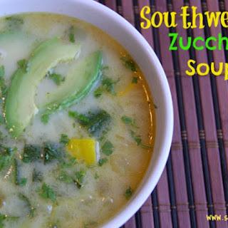 Southwestern Zucchini Soup