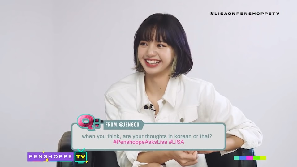 [FULL] LISA BLACKPINK on Penshoppe TV 19-4 screenshot