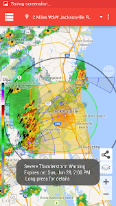 Storm Alert Lightning & Radar screenshot 0