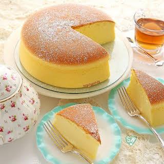 Jiggly Fluffy Japanese Cheesecake.