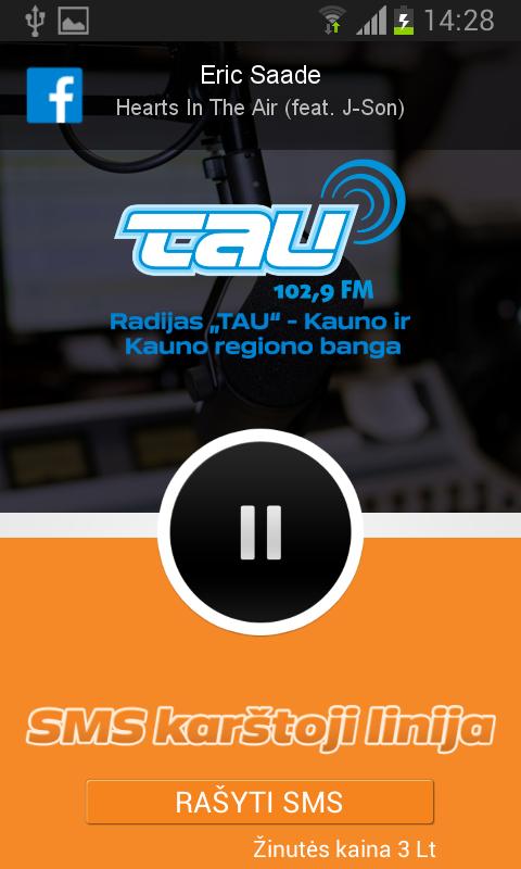 Скриншот Radijas TAU