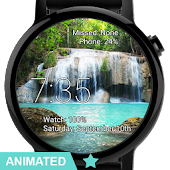 Watch Face Waterfall Wallpaper