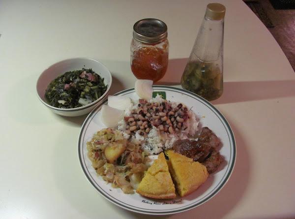 Mississippi New Years Black Eyed Peas Recipe