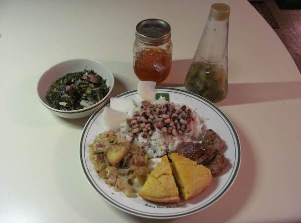 Mississippi New Years Black Eyed Peas Recipe
