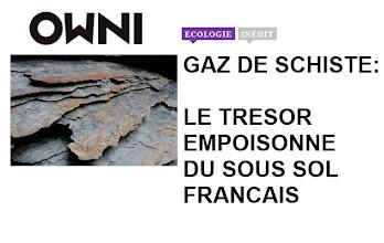 Photo: SITE: Article enquète...par Sylvain Lapoix, Ophelia Noor et Pierre Ropert Le 7 décembre 2010 . http://owni.fr/2010/12/07/gaz-de-schistes-le-tresor-empoisonne-du-sous-sol-francais/