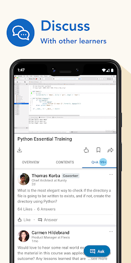 LinkedIn Learning: Online Courses to Learn Skills 0.141.1 Screenshots 5