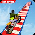 Stunt Bike Impossible Tracks-Race Moto Drive Game icon