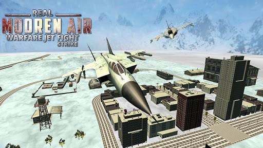 Real Modern Air Warfare 3D Tank Jet Fighter Strike 1.1 screenshots 2