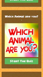 Which Animal Are You? Screenshot