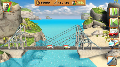 Bridge Constructor Playground FREE  screenshots 1