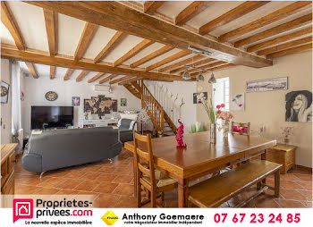 maison à La Chapelle-Montmartin (41)