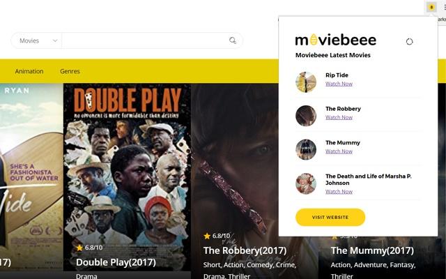 MovieBeee Movie Watch Extension