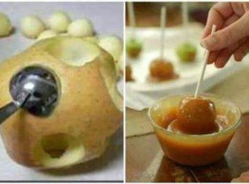 Bite Size Caramel Apples Recipe