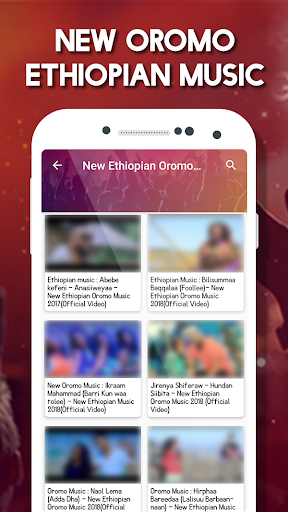 Amharic Music Video : New Ethiopian Music by Radhu Apps (Google Play