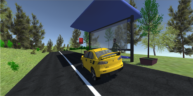 Lancer Evo Taxi Simulator 2018 - náhled
