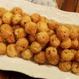 Gougeres with Gruyere Cheese and Black Forest Ham WOLFGANG PUCK Recipe