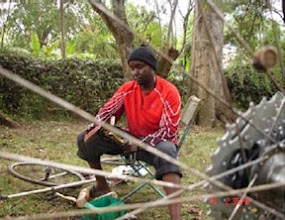 Photo: Bicycle Repair Jobs Courtesy Wheels of Africa