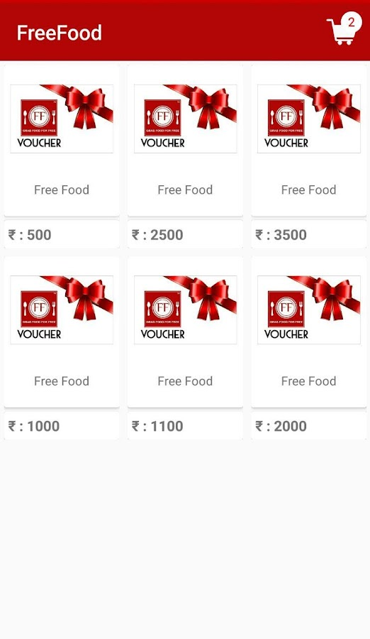 Free Food- screenshot