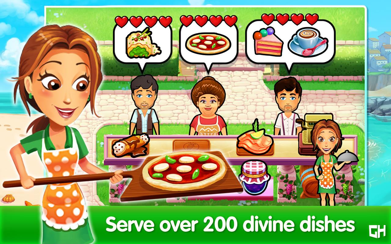 Emily's Cooking Secrets Game- screenshot