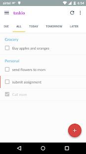 Taskio - Manage your tasks - screenshot thumbnail