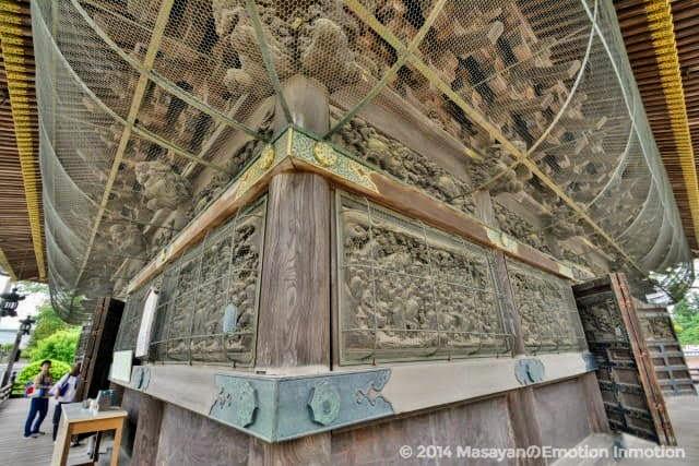 成田山新勝寺の五百羅漢