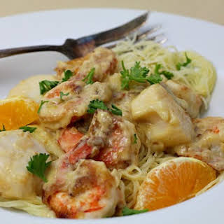 Shrimp Scallops Cream Sauce Recipes.