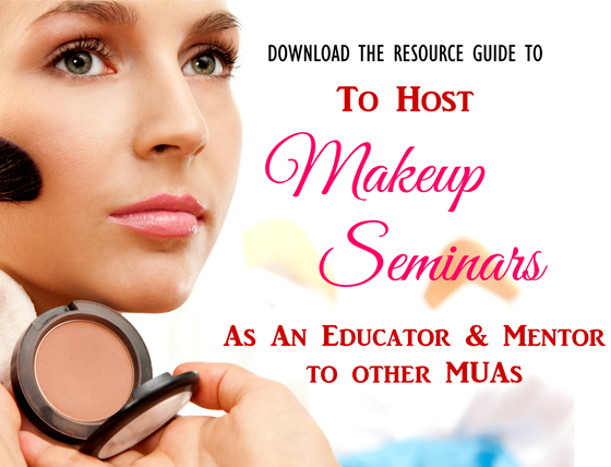 Learn To Host LIVE Makeup Seminars To Educate & Mentor Other MUA's