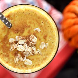 Pumpkin Pie Smoothie {Healthy Oat Smoothie}