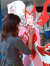 Photo: L'allieva Lolo Joana (4° A) al lavoro
