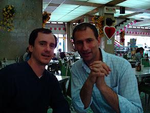 Photo: Juio and Mauricio at Boca del Rio