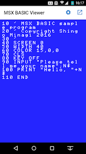 MSX BASIC Viewer- screenshot thumbnail