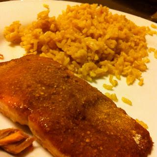 Baked Teriyaki Salmon with Matzoh Crust