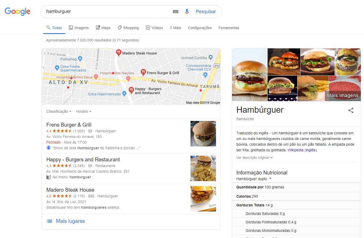 imagem do google my business