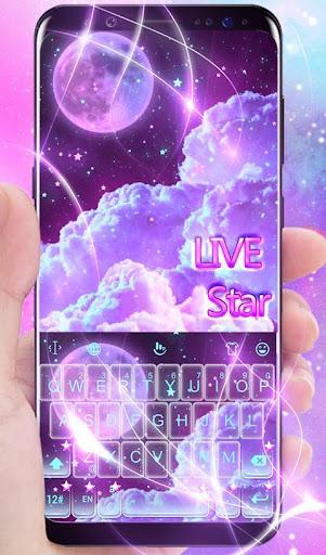 PC u7528 Live Dream Stars Keyboard Theme 1