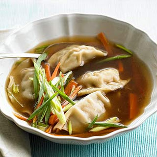 New Year's Day Dumpling Soup