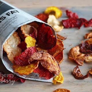 Crispy Root Vegetable Chips.