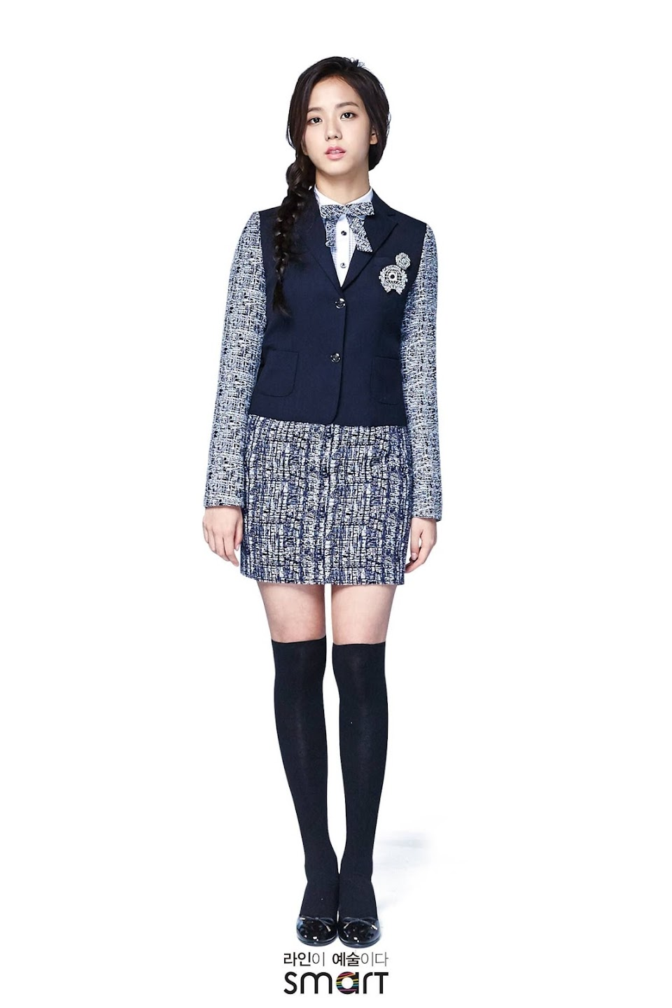 Jisoo uniform