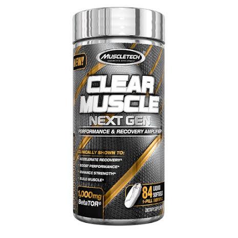 Muscletech Clear Muscle Next Gen 84 softgels