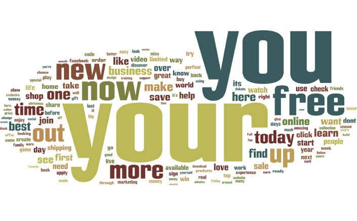 You/Your, Free, Now, and New are the Top Words. Source: HubSpot
