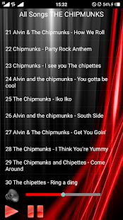 All Songs THE CHIPMUNKS - náhled