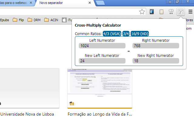 Cross Multiply Calculator