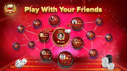 Backgammon King Online 🎲 Free Social Board Game App Latest Version Download For Android and iPhone 6