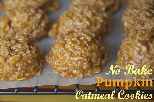 No Bake Pumpkin Oatmeal Cookies Recipe