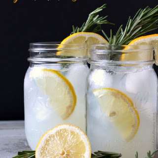 Sparkling Honey Rosemary Lemonade