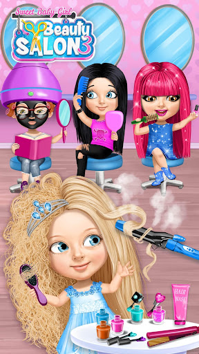 Sweet Baby Girl Beauty Salon 3 - Hair, Nails & Spa 3.0.8 screenshots 1