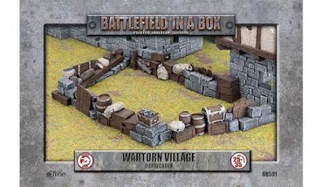Wartorn Village - Barricades