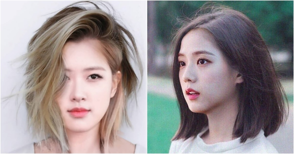 Here's What BLACKPINK Would Look Like With Short Hair - Koreaboo