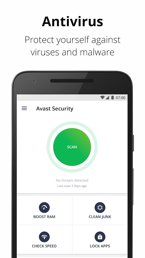 Avast Mobile Security & Antivirus– captura de ecrã